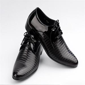 2019Business freizeit neue styleDress Männer Formale Schuhe Männer Italienische Marken Spitz Leder Schuhe Männer Mode Business Oxfords Size38-48