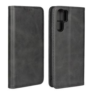 Genuine Real Leather Case For Huawei P40 Pro Lite P30 P20 Lite Nova 5T P Smart Mate 30Pro 30 20Pro 20 Y7 Y9 2019 Wallet Card Caver