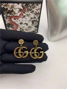 Europäische und amerikanische Marke beliebt Schmuck klassische Ohrringe, Persönlichkeit Design-Stil, 925 silberne Nadel