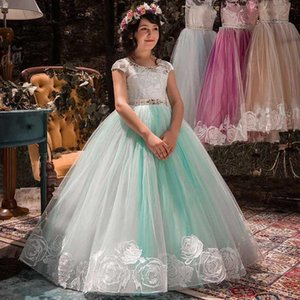 Long Elegant Formal Wedding Dress For Girls Event Party Wear Prom Gown First Communion Dresses Clothes New Year Princess DressKIdr#