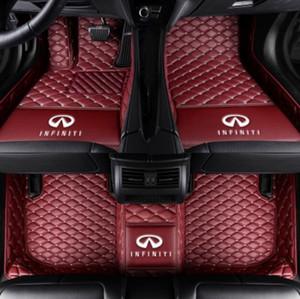 Tappetini auto per Infiniti Q50 2014 ~ 2015 Tappetini auto Tappetino impermeabile Tappetini impermeabili di lusso personalizzati
