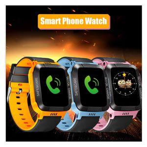스마트 시계 Y21 어린이의 전화 시계 어린이의 위치 전화 시계 (144) 터치 스크린 전자 선물 스포츠 시계