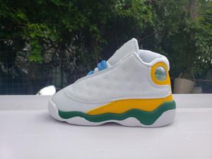 KIDS 13s Basketball Shoes Hardaway Children Tennis FOAM Eggplant Basketball Sport Shoes Outdoor Athletic Sneaker shoe Eur 22-47