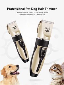 Electric Pet Dog Hair Trimmer Clipper Professional Animal Remover Cutter Grooming Rechargeable Low Noise Cat Hair Cut Machine