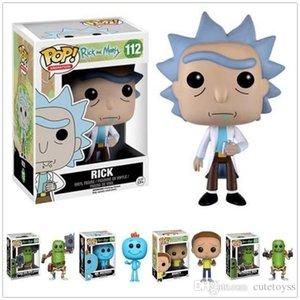 guter Funko POP Rick und Morty MR.MEESEEKS PICKLE RICK mit Laser-Aktion Abbildung Sammlung PVC Modell Spielzeug