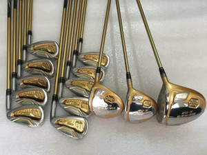 Fast Shipping real Pictures Top Luxury Conjunto Completo Honma IS-06 clubes de golfe 4 Estrelas Motorista + Fairway Woods, + Golf Irons + Honma Golf Putter