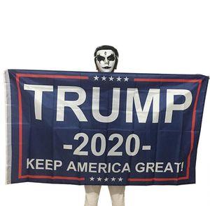 90 * 150cm de la bandera Trum mantener a Estados Unidos 2020 Gran Donald para el presidente Banderas EE.UU. elección presidencial americana mayorista