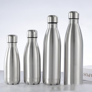 Sport Bottiglia Single Layer Cola Bottle Necessities giornaliere in acciaio inox Cola Bottle Water Sports Bottiglie di sport EEA1385-7