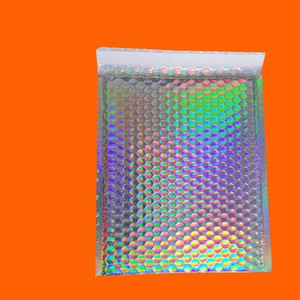 Symphony Custom Foam Bag Pearl Film Bubble Bag Aluminized Film Gift Courier Bag Laser Film Bubble Colorful Envelope