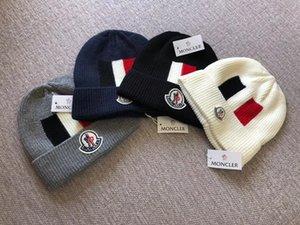 Chapeaux d'hiver célèbre Luxe adultes Hip Hop Knit Beanies Hommes Femmes hiver Head Caps plus chaudes