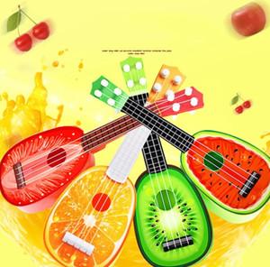 Sensory Emotional Hearing Can Play Simulation Ukulele Mini Fruit Guitar Toy Child Early Education Music Toy Instrument