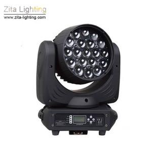 Zita Lighting LED 19X12W Zoom Cabeza móvil RGBW Wash Bee Eye Equipo de escenario Fiesta privada Discoteca Evento de luz Efecto