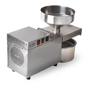 BEIJAMEI Commercial household peanut oil press machine industrial electric stainless steel automatic cold hot oil presser maker