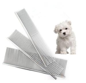 Pet Bakım Fırça Tarak Araçları Köpek Temiz Için Ucuz Fırçalar Pin Kedi Fırça Paslanmaz Çelik Köpekler Tarak Metal Pet Ürün
