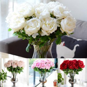 DIY Emperor Peony Hydrangea Artificial Flowers Wedding Bridal Home Decor