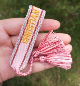 Woven-Freundschaft-Armbänder für Jugendliche Frauen-bunte Handgemachte geflochtenes Armband für Wrist Fußkettchen mit Geschenk-Beutel-freies Verschiffen
