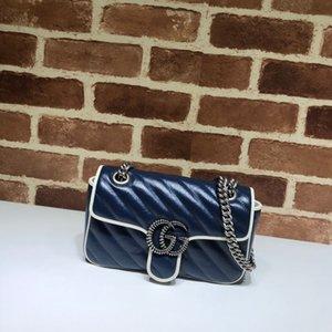 2020 best Ladies Shoulder bag Belt 446744 size23..14..6cm,fashionable men andwomen bag, single shoulder bag,double shoulder bag,handbag