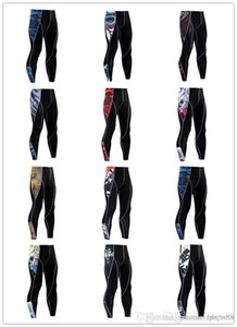 2019 Top quality mens long Leggings Men Hot Sexy Gym Compression Fitness Tights Pants Jogging Sportswear Sports Trousers Leggings Running Pa
