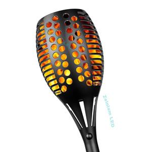 Chama solar LED flicking lâmpada Auto iluminação em aparelho de iluminação LED escuro Jardim noite lâmpada solar luzes jarda iluminação