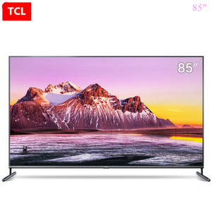 TCL schermo 85 pollici cinema privato pieno scena AI HDR intelligente + flat-panel trasporto libero TV 4K Ultra HD