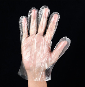 100pcs / Lot Disable Gloves One-off Plastic Gloves Restaurant
