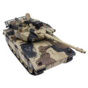 Новый RC Танк Израиль Меркава Tactical Vehicle Основной боевой Military Основной боевой танк Модель Звук Recoil Электронные игрушки хобби