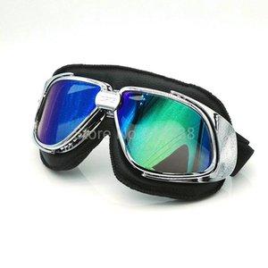 Nero Lether flessibile per adulti Motociclo protettivo Gears motocross Mx Goggles Occhiali moto