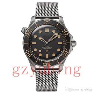 Luxury watch Men Mesns Limited Edition Skyfall Mens Master James Bond's 007 Diver 300M Watches mark 50th Designer Steel Wristwatches