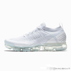 nike air Vapormax max Off white Flyknit Utility da uomo Sneakers da uomo Donna Moda Athletic Bianco Sport Shock Corss Escursionismo Jogging Walking Scarpe da esterno