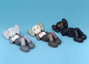 HOT 24CM 0.7KG Originalfake KAWS Companion Half lying style for Original Box KAWS Action Figure model decorations toys gift