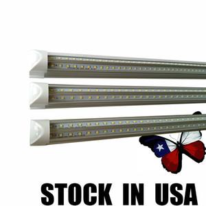 New arrive 2ft 18W V-Shaped T8 Led Tubes 600mm Cooler Light Led Fluorescent Tubes Lamp energy lightbulbs AC 110-240V CE UL Crestech