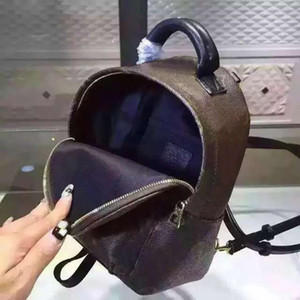 2020 Free shipping!Hot Orignal Real Genuine Leather Fashion Pack Backpacks Handbags Presbyopic Mini Packages Mobile Phone Purse Brown