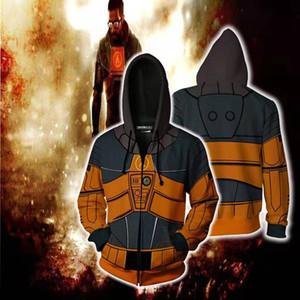 Half-Life 3D Sweatshirt Hoodie sweater