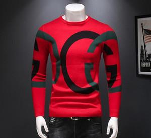 2020 Международный Новый высокого качества свитер теплый тонкий рубашка куртка литерных Толстовка Street пальто высокого класса верхней спортивной большой размер M - 4XL