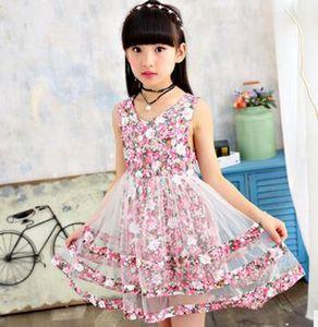 Оптовая девушка платье лето нового платья в большом мальчик иностранных детях платья юбки