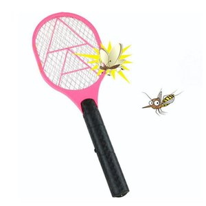 Handheld Elétrica Raquete Battery Power leve Mosquito Swatter Pest Bug Fly Mosquito assassino Repeller Zapper Swatter Outro Jardim