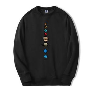 Planets Colour Men Hoodie 2019 Autumn Winter Warm Fleece High Quality Sweatshirts Creative Design Funny Fashion Fitness Hoodies Y200704