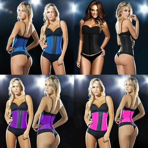 Supporto per la vita da sport Corsetto a coppa in gomma Cappotto di gomma in lattice Lady Body Sheath Dimagrante Bodybuilding 34dlf1