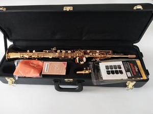 브랜드 뉴 B 플랫 소프라노 색소폰 마크 VI 악기 색소폰 황동 소프라노 전문가와 케이스