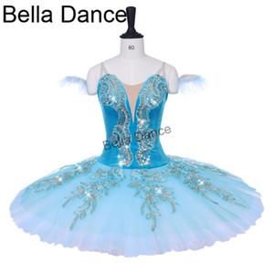 adulto verde dormir verde beleza variação profissional tutu criança desempenho competiton estágio ballet trajes meninas BT9153B