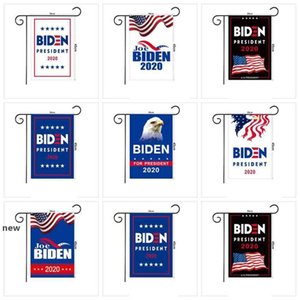 JOE Biden 2020 Garden Flag 45*30CM American President Election Flag Biden 2020 Flag Biden Election Banner ZZA2254 600Pcs