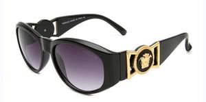 Gafas de sol de metal Diseñador Gold Flash Glass Lens para hombres Mujeres Espejo Gafas de sol Redondas unisex sun glasse envío gratis9918