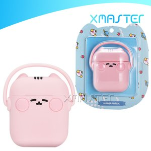 For Airpods Case Washable Liquid Silicone Protector Cover for Apple Airpod 1 2 Earphone Cute Cat for AirPod Cases with Retail Box xmaster