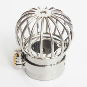 NOUVEAU Stealth Lock Design Scrotum Pendentif En Acier Inoxydable Ball Stretchers Cock Ring Verrouillage Male Chastity Sex Toys