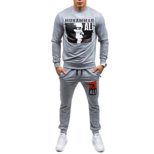 Sweat Suit Designer Hoodie Sweatshirt Mens Sports Wei Champion Suits Boxing Printing Pullover Sweater Coat Pants Jackets White Ietkn