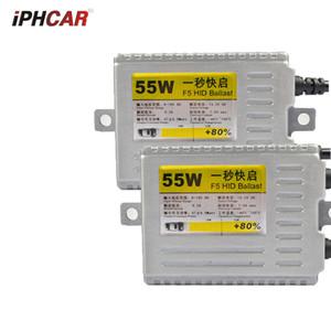 2adet Hızlı Parlak 55W hızlı H4 H7 H1 9005 9006 Ampul far otomobil aksesuarları Değiştir AC hid xenon Kiti balast DLT F5 fit strat