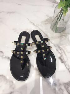 2020 Frauen Flip-Flops Frau Gelee Sandalen Niet Sommer Strandschuhe sapatos Femininos zapatos mujer chaussure femme sapato feminino Sandalen