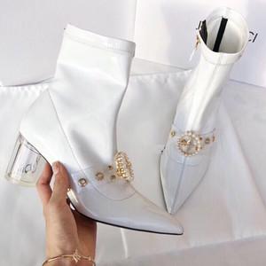 Outono-Inverno Moda Sapatos Para Mulher Belle Outono-Inverno Moda Sapatos Para Mulher Belle Botas Designer Fábrica de luxo Atacado Boa Qualidade