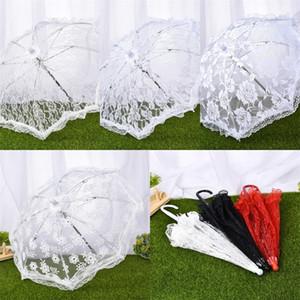 Encaje manual Boda Celebración Umbrella Steel Picture Studio Prop Fashion Umbrella Nuevas llegadas con varios estilos 11 99wt J1