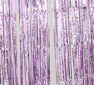 Dekorasyon Gösterilen Ev Dekorasyon Parti Backdrop Perdeler Glitter Altın Tinsel Fringe Folyo Perde Yıldönümü Duvar